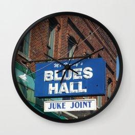 Mr. Handy's Blues Hall Juke Joint Wall Clock