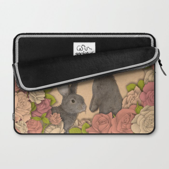 Rosie Rabbits Laptop Sleeve