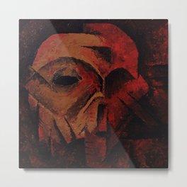 face_pt.3-3 Metal Print