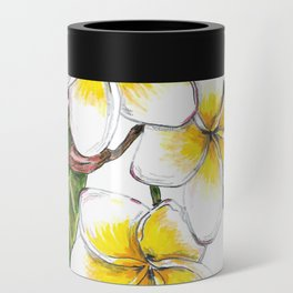 Frangipani Flower Can Cooler