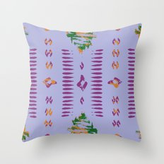 ikat inspiration Throw Pillow