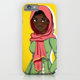 Draped Cuteness iPhone Case