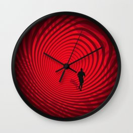 Into The Unknown CVII - Escape II Wall Clock