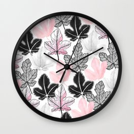 The Fig pastel Wall Clock