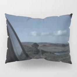 Rearview Landscape Pillow Sham