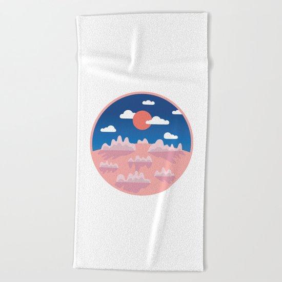 Sundown Beach Towel