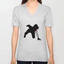 Winter Soldier Car Attack Unisex V-Neck