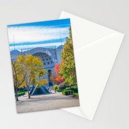 Ohio State Football Horseshoe Stadium Fall Print Stationery Cards