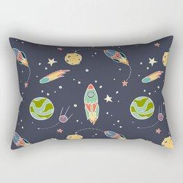Space Flight Rectangular Pillow