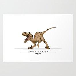 Cookieraptor Art Print