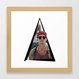 Youtriangle ∆ Jack Morris Framed Art Print