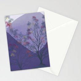 Winter in Portland, Oregon Stationery Cards