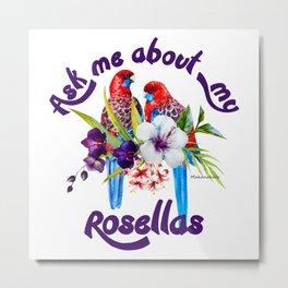 Rosella Pride Metal Print