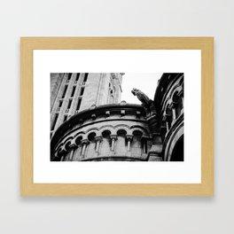 Gargoyle at Montmartre Framed Art Print