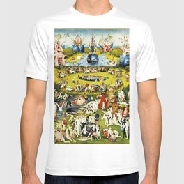 Bosch Garden Of Earthly Delights Panel 2 T-shirt