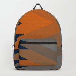 Vintage Bleu Dream Pattern Backpack