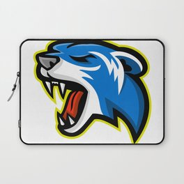 Angry Polecat Mascot Laptop Sleeve