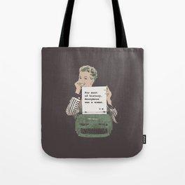 Virginia Woolf Quote Tote Bag