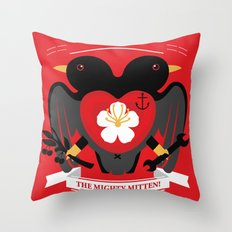 Doublebreasted Appleblossom Throw Pillow