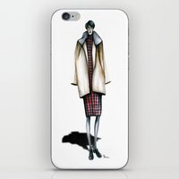 sylvia plath iPhone & iPod Skins featuring Otto's Sylvia  by Bruna Babic