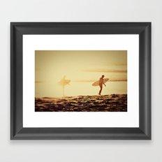 california dreamin'  Framed Art Print