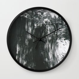 Stump Wall Clock