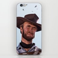 clint barton iPhone & iPod Skins featuring Clint by Mark Hammermeister