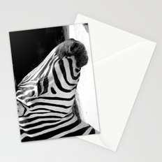 b&w zebra Stationery Cards