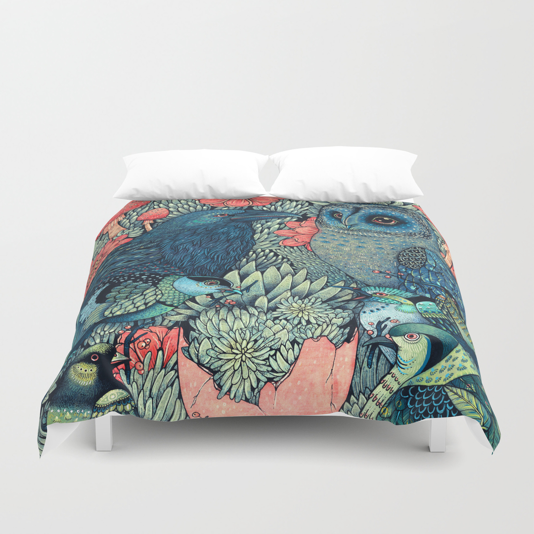 Animals Duvet Covers Society6