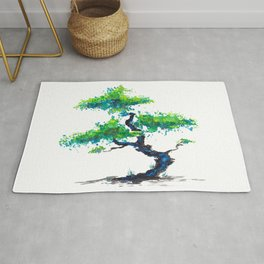 Blue Bonsai Rug