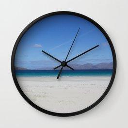 Beach 3 Lewis and Harris 1 Wall Clock