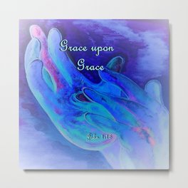 Grace Upon Grace Metal Print