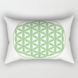 GreenFLower of Life Rectangular Pillow