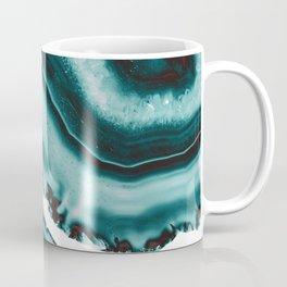 Turquoise Brown Agate #1 #gem #decor #art #society6 Coffee Mug