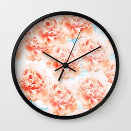Abstract floral pattern 5 Wall Clock