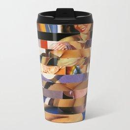 Glitch Pin-Up Redux: Sophia Metal Travel Mug