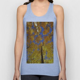 Golden woods. Autumn Secrets Unisex Tank Top