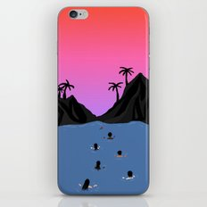 Swim Together iPhone & iPod Skin
