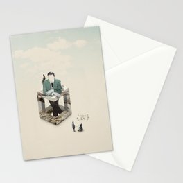 Feed the bear Stationery Cards