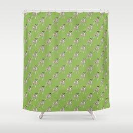 Whippet Love2 Shower Curtain