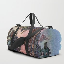 Perspective of a Function Duffle Bag