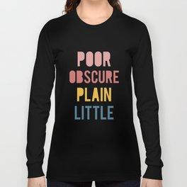 Jane Eyre Long Sleeve T-shirt