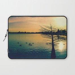 Going Home (Winter Lake at Dusk) Laptop Sleeve