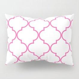 Quatrefoil - Bubblegum Pillow Sham
