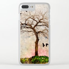 MY SPIRIT TREE Clear iPhone Case