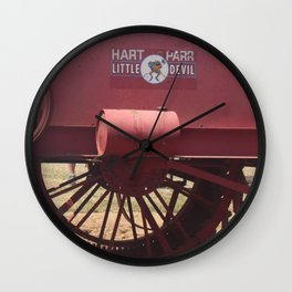 Hart-Parr Little Devil Tractor Wall Clock