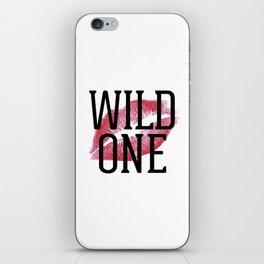 Wild One Lips iPhone Skin