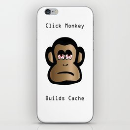 Click Monkey Builds Cache iPhone Skin