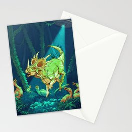 Cretaceous Abduction Stationery Cards