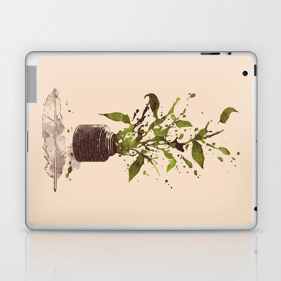 A Writer's Ink Laptop & iPad Skin